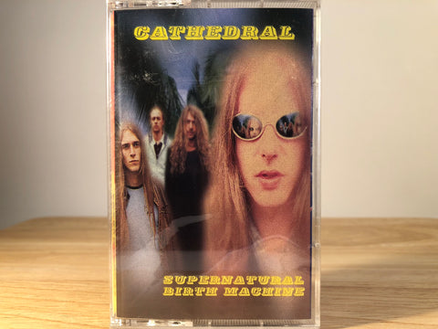 CATHEDRAL - supernatural birth machine - BRAND NEW CASSETTE TAPE