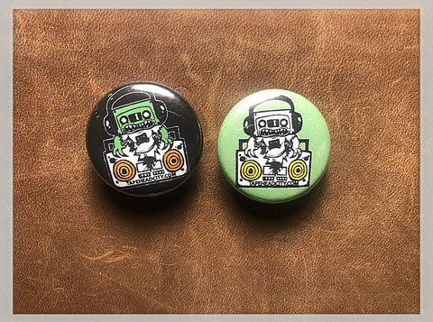 Tapehead City Pins - (2 pins)