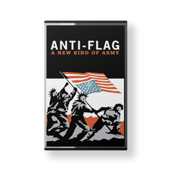 ANTI-FLAG - a new kind of army - brand new cassette tape