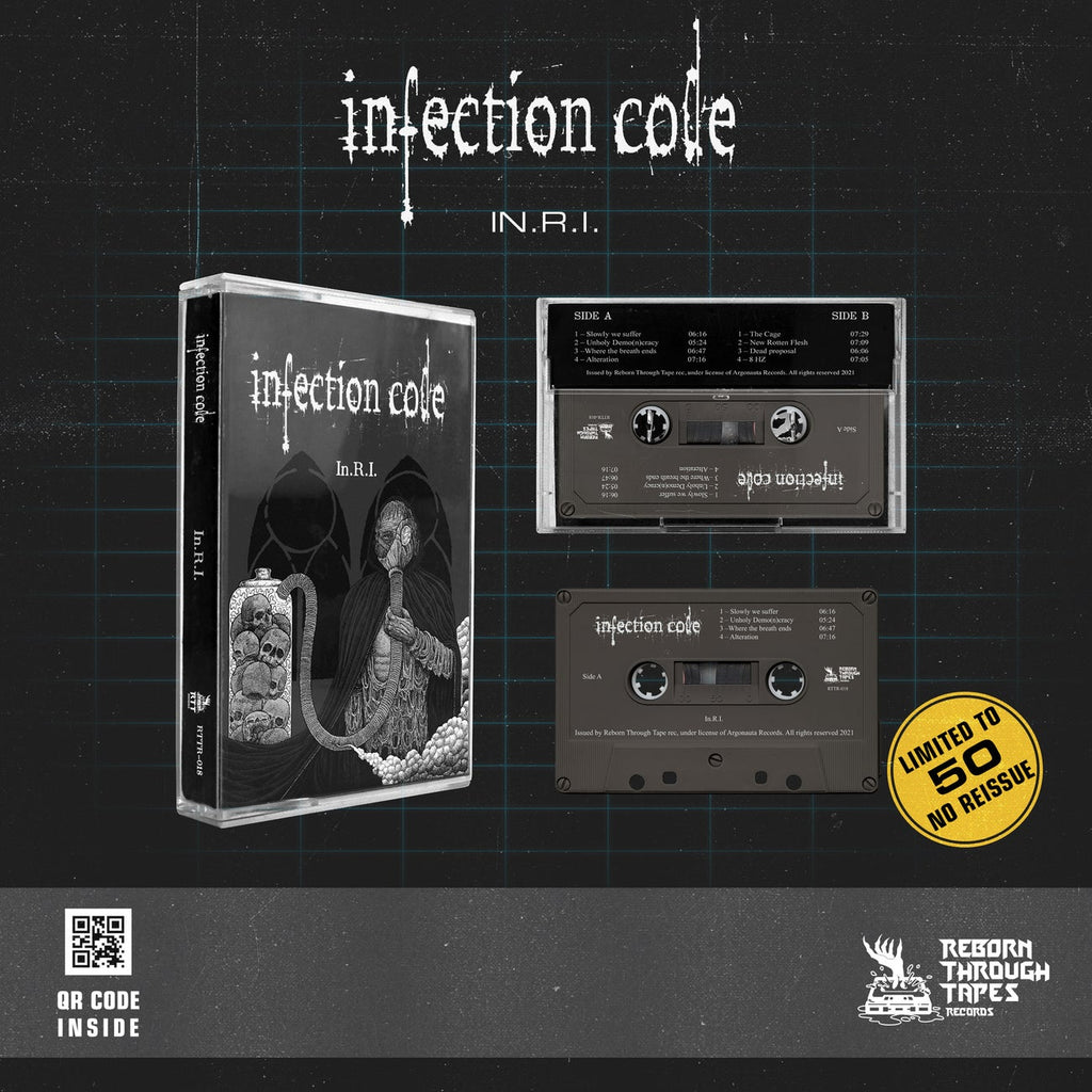 "INFECTION CODE - ""IN.RI."" - BRAND NEW CASSETTE TAPE"