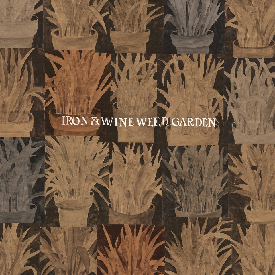 IRON & WINE - weed garden - BRAND NEW CASSETTE TAPE