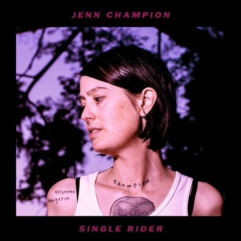 JENN CHAMPION - single rider - BRAND NEW CASSETTE TAPE