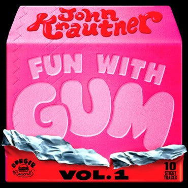 JOHN KRAUTNER - fun with gum Vol. 1 - BRAND NEW CASSETTE TAPE
