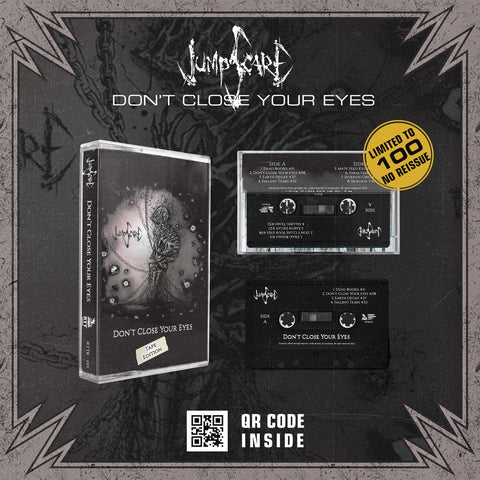 JUMPSCARE - DON'T CLOSE YOUR EYES - BRAND NEW CASSETTE TAPE