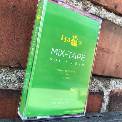 LYA BEER CAFE - various artists - BRAND NEW CASSETTE TAPE