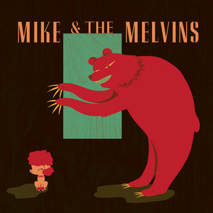 MIKE & THE MELVINS - three men & a baby - CASSETTE TAPE rock