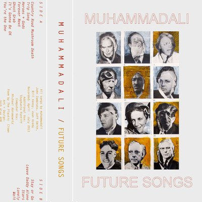 MUHAMMADALI - future songs - BRAND NEW CASSETTE TAPE