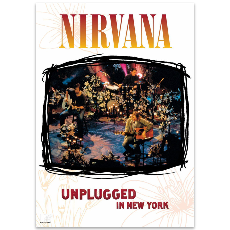 NIRVANA - MTV unplugged in New York [DVD] - BRAND NEW