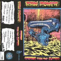 RAW POWER - screams from the gutter - BRAND NEW CASSETTE TAPE