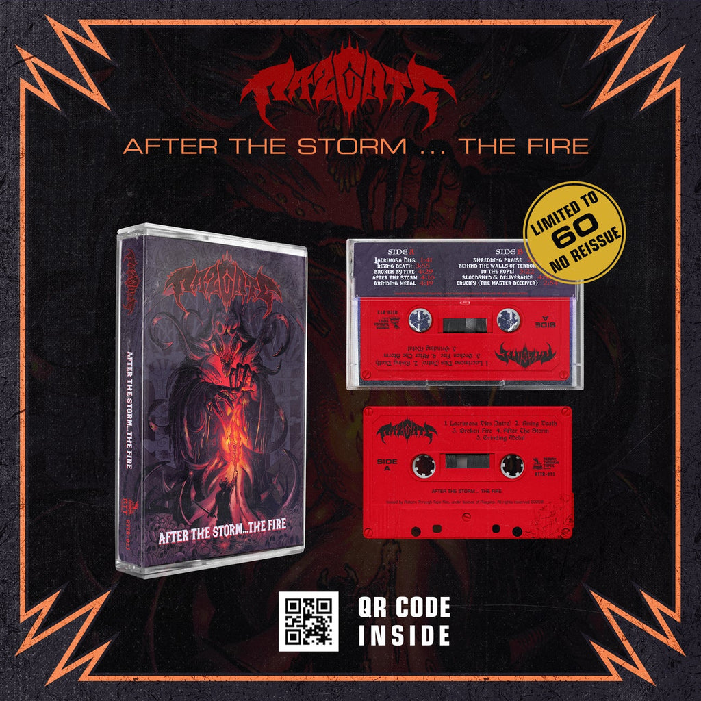 RAZGATE - AFTER THE STORM...FIRE - BRAND NEW CASSETTE TAPE