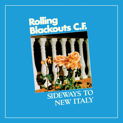 ROLLING BLACKOUTS C.F. - sideways to new italy - BRAND NEW CASSETTE TAPE