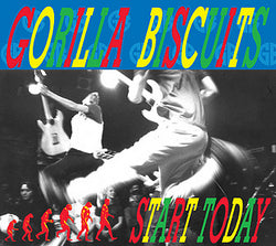 GORILLA BISCUITS - start today - BRAND NEW CASSETTE TAPE - punk