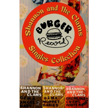SHANNON AND THE CLAMS - singles collection - BRAND NEW CASSETTE TAPE