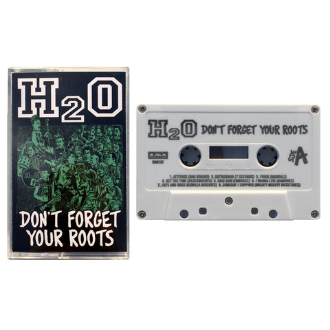 H20 - dont't forget your roots - BRAND NEW CASSETTE TAPE