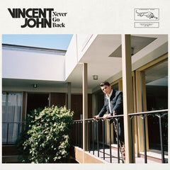 VINCENT JOHN - never go back - BRAND NEW CASSETTE TAPE