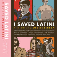 I SAVED LATIN! - A Wes Anderson Tribute - BRAND NEW CASSETTE TAPE [low stock]