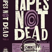 TAPES NOT DEAD - Vol.2 - BRAND NEW CASSETTE TAPE [includes comic]