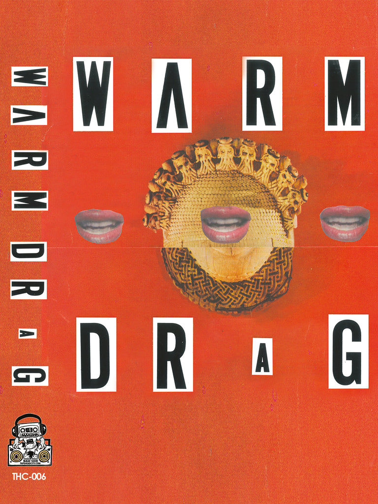 WARM DRAG - s/t - BRAND NEW CASSETTE TAPE - CSD2019