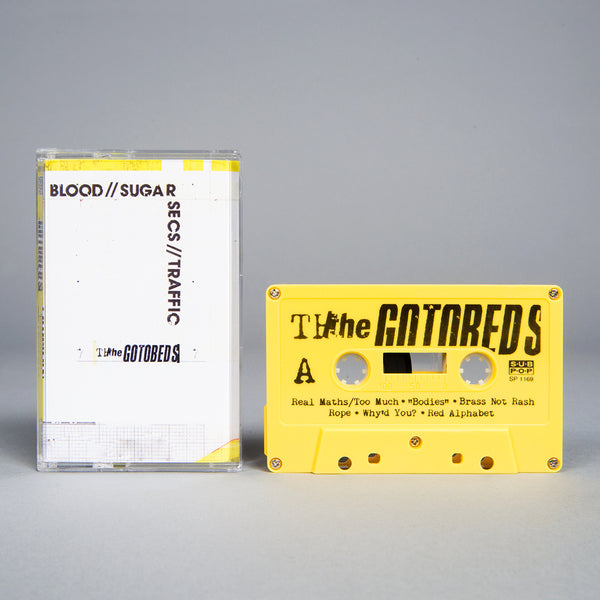 THE GOTOBEDS - blood sugar secs traffic - CASSETTE TAPE