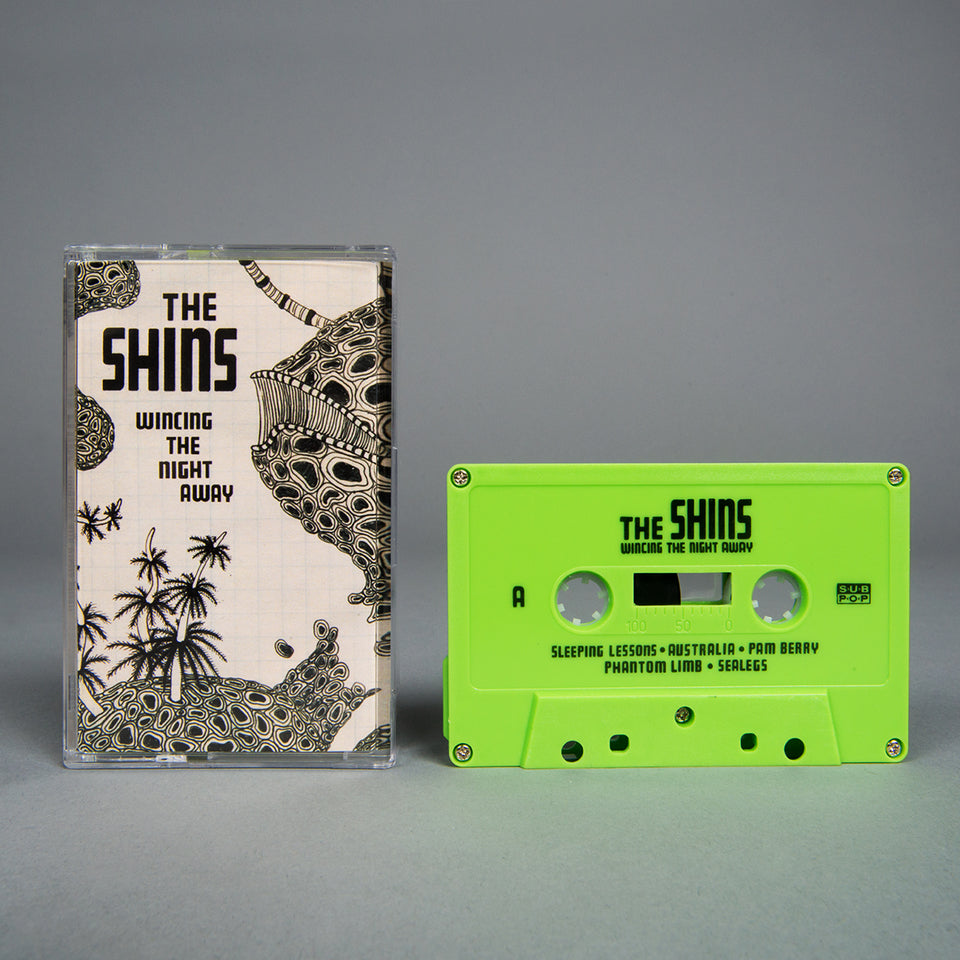 THE SHINS - wincing the night away - BRAND NEW CASSETTE TAPE