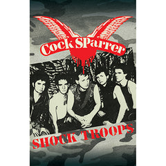 COCK SPARRER - shock troops - BRAND NEW CASSETTE TAPE