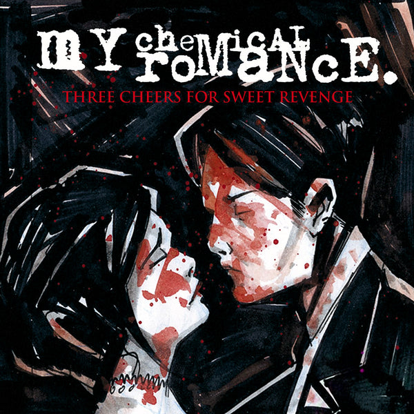MY CHEMICAL ROMANCE - three cheers for sweet revenge - BRAND NEW CASSETTE TAPE