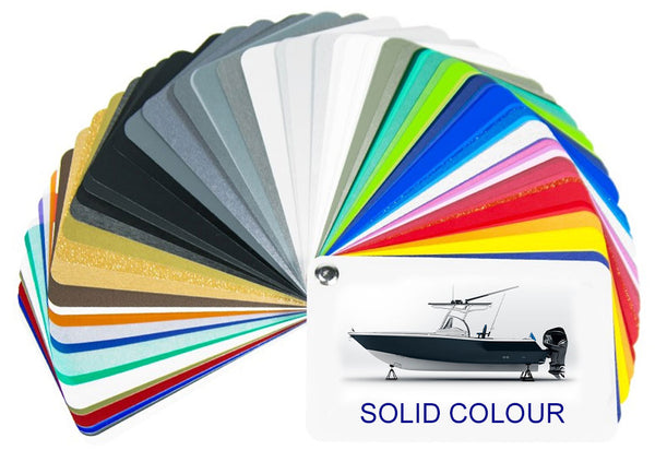 Solid Colour Boat Wraps