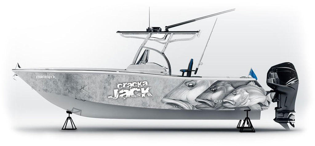 nICK lAFERRIERE BOAT WRAP