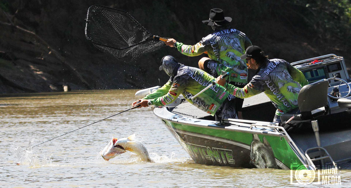 Bsarramundi fishing
