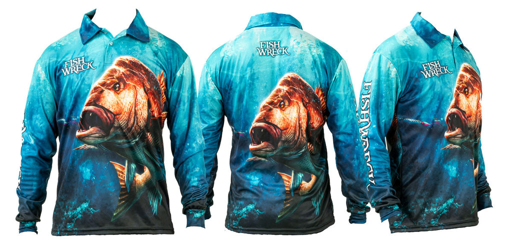 Snapper Fishing Shirt