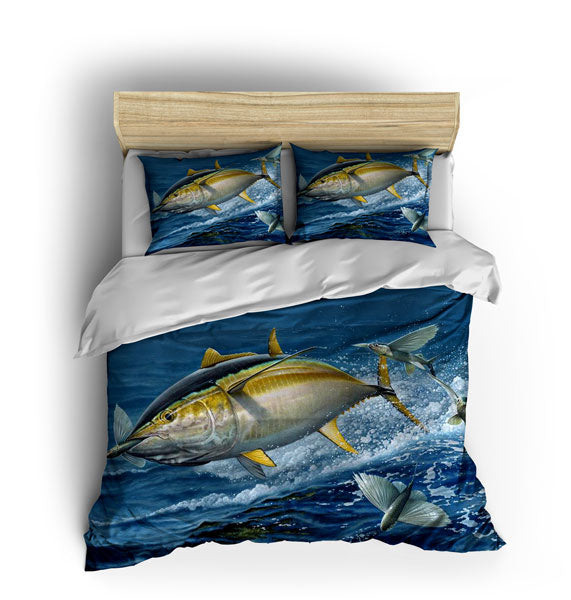 Tuna Flying Fish Bed Sets Fishwreck
