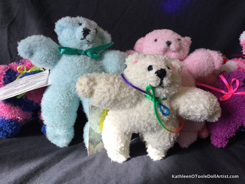 Fuzzy Sock Teddies
