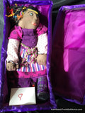 Cloth Doll: Purple Dreams 33 cm 13 ""