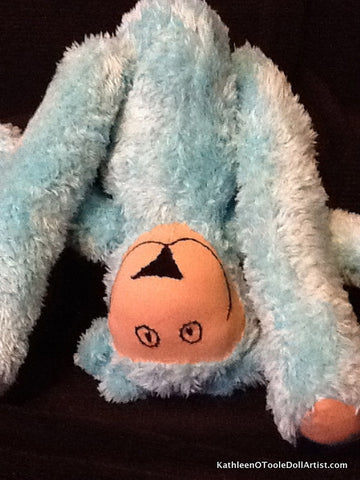 Happy Bear: Soft Turquoise Fur: 43 cm / 17 ""