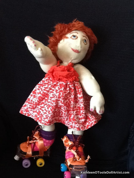 Cloth Doll: SkatR 40.5 cm / 26 ""