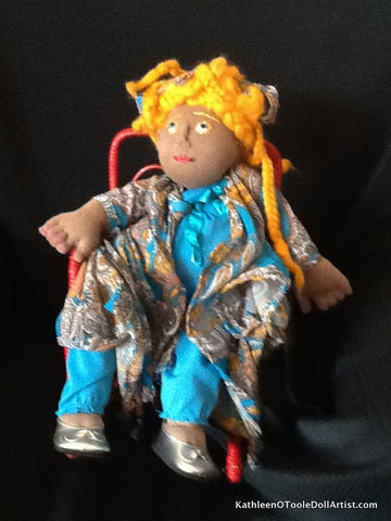 Cloth Doll: Dreads 33 cm / 13 ""