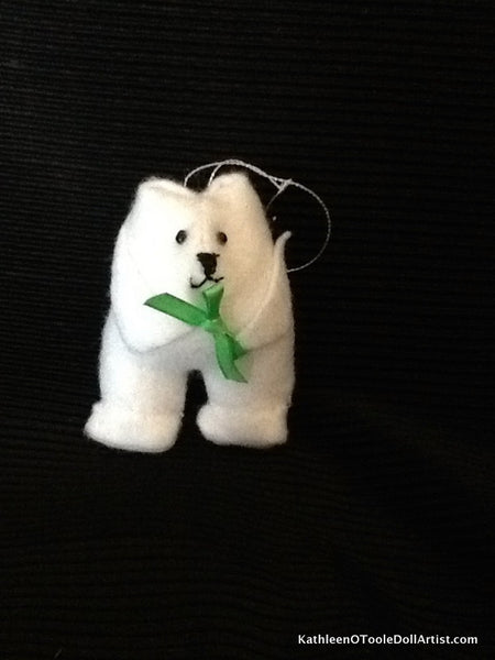 Christmas Ornament: Polar Bear 9cm / 3.5 ""