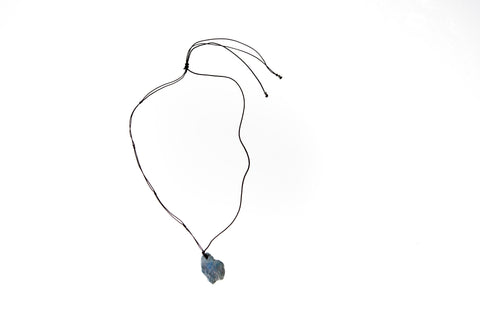 Natural Turquoise Necklace (Baby Blue)