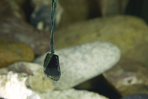 Tourmaline Drop Necklace Three