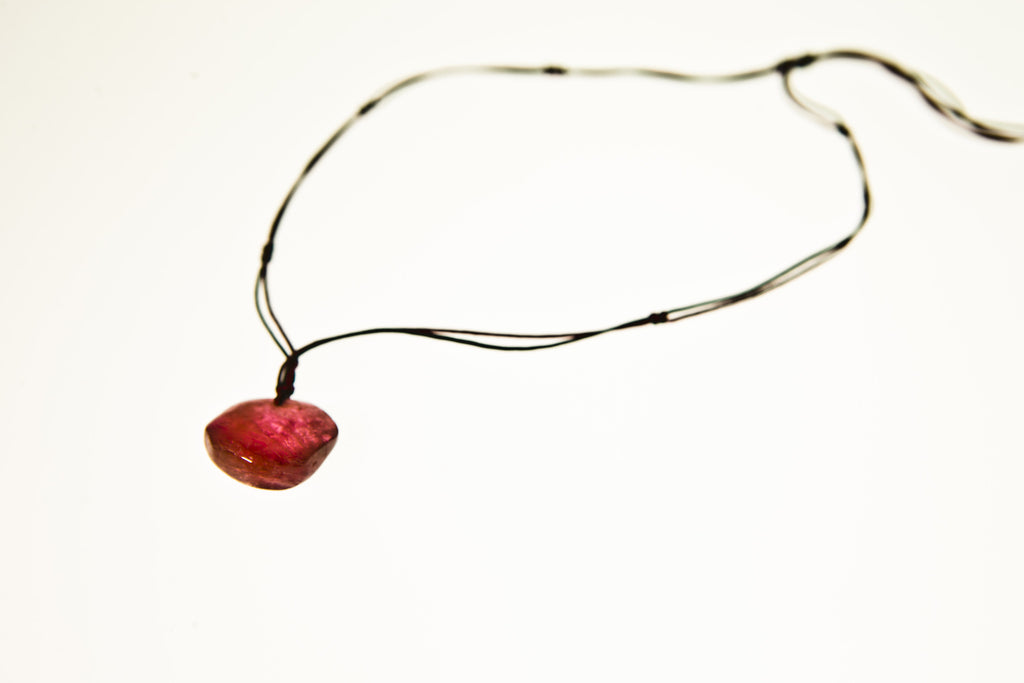 Tourmaline Drop Necklace Five
