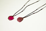 Tourmaline Drop Necklace Eight