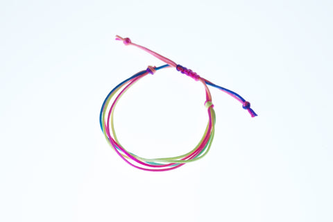 Neon highlighter bracelet