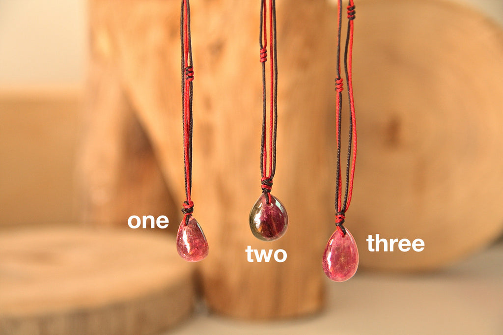 Tourmaline Drop Necklace Ten