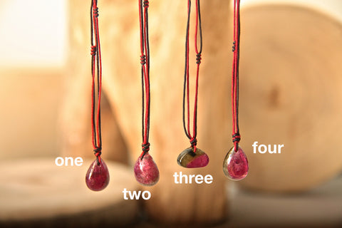 Tourmaline Drop Necklace Eleven