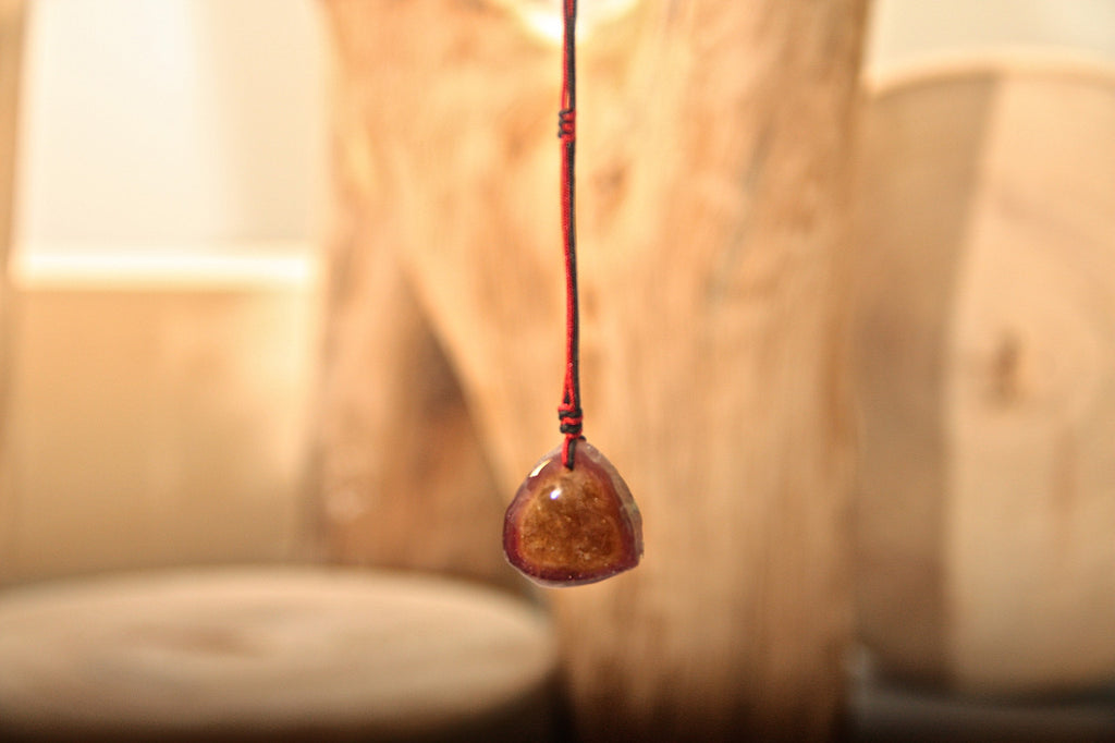 Tourmaline Drop Necklace Twelve