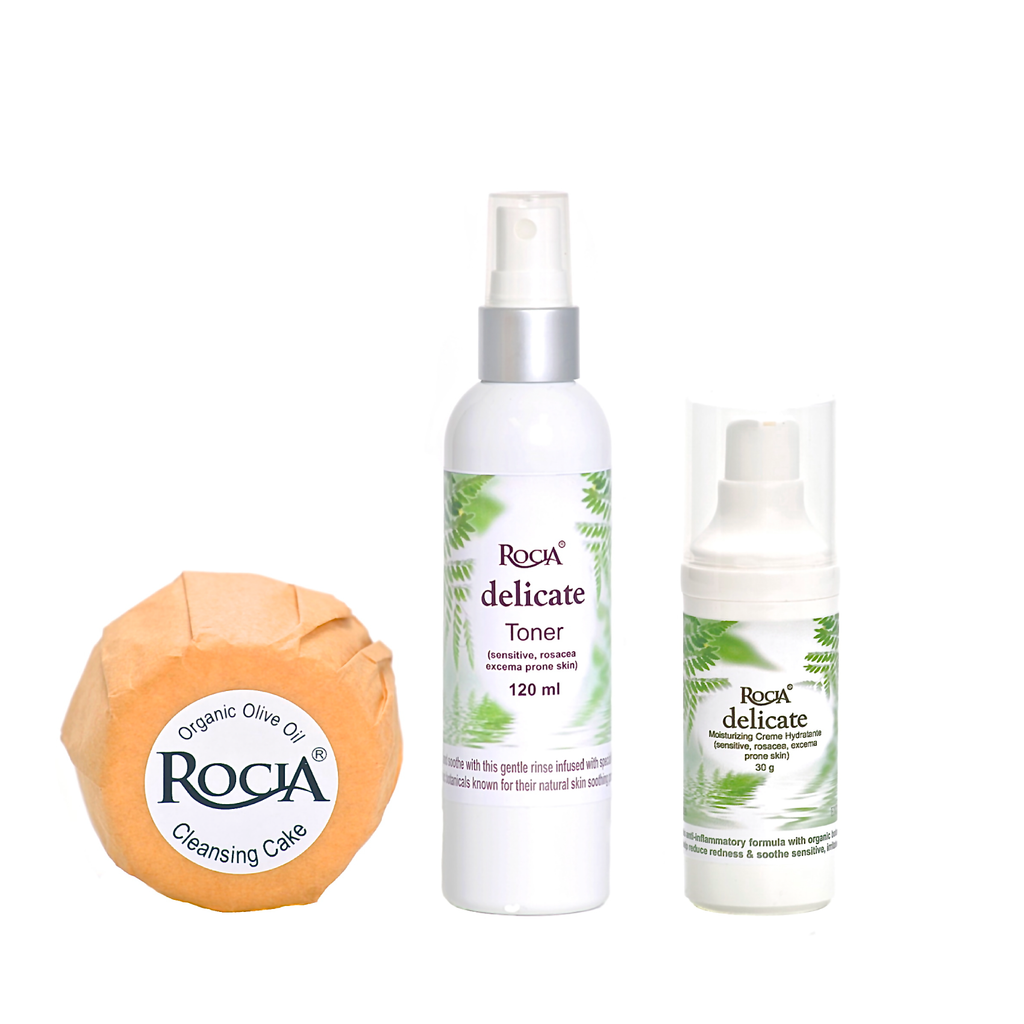 sensitive skincare system by rocia naturals