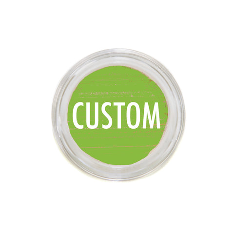custom blend <br>mineral foundation