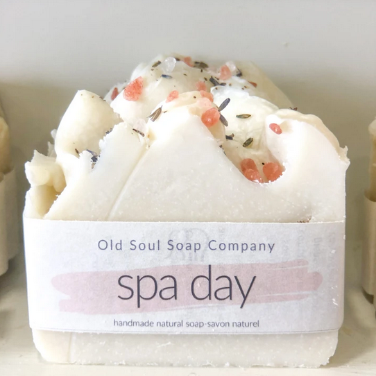 Spa Day Artisan Soap by Old Soul Soap Co.