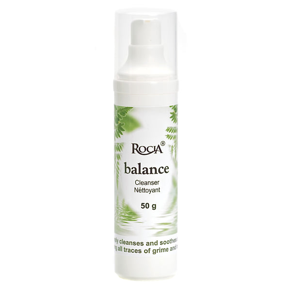 balance cleanser + makeup remover by rocia naturals