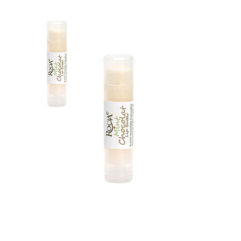 Mint Chocolat Natural Lip Butter 2 Pack by Rocia Naturals